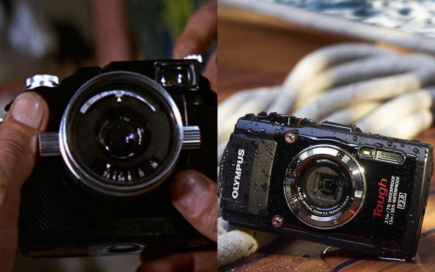 9. В этом же фильме у Бонда была подводная инфракрасная камера, которая может снимать в темноте. Такие камеры сегодня очень распространены. Одна из таких моделей - Olympus Stylus TG-3, которая может снимать на глубине 15 м.