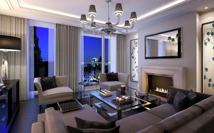 6. Вестминстер, Лондон. Квартира на Стрэнд – центральной улицы Лондона, напротив Королевского суда. Этот комплекс включает 206 люксов, квартир и пентхаусов, а также ресторан и магазины. Стоимость пентхауса – 863 млн. рублей.