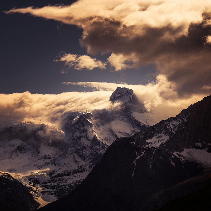 11. Горы Чили.