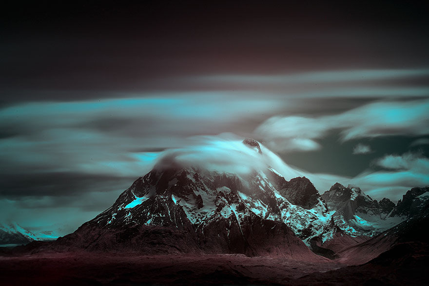 12. Течение облаков.