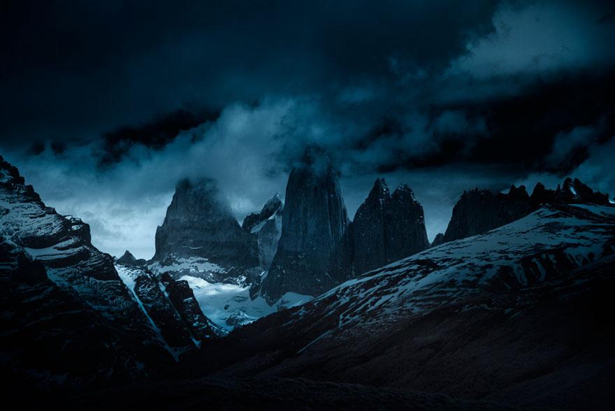 6. Фотопроект Энди называется «Сны Патагонии».