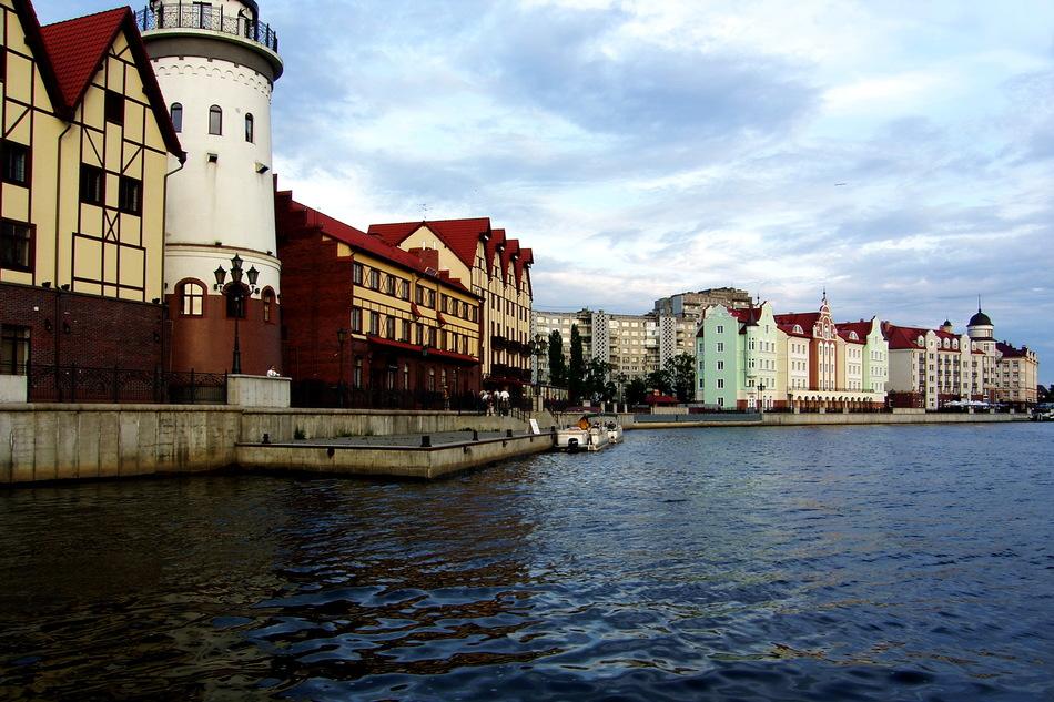 23. Калининград, Калининградская область. Этот город отличает можно смело принять за Европейский из-за его архитектуры.
