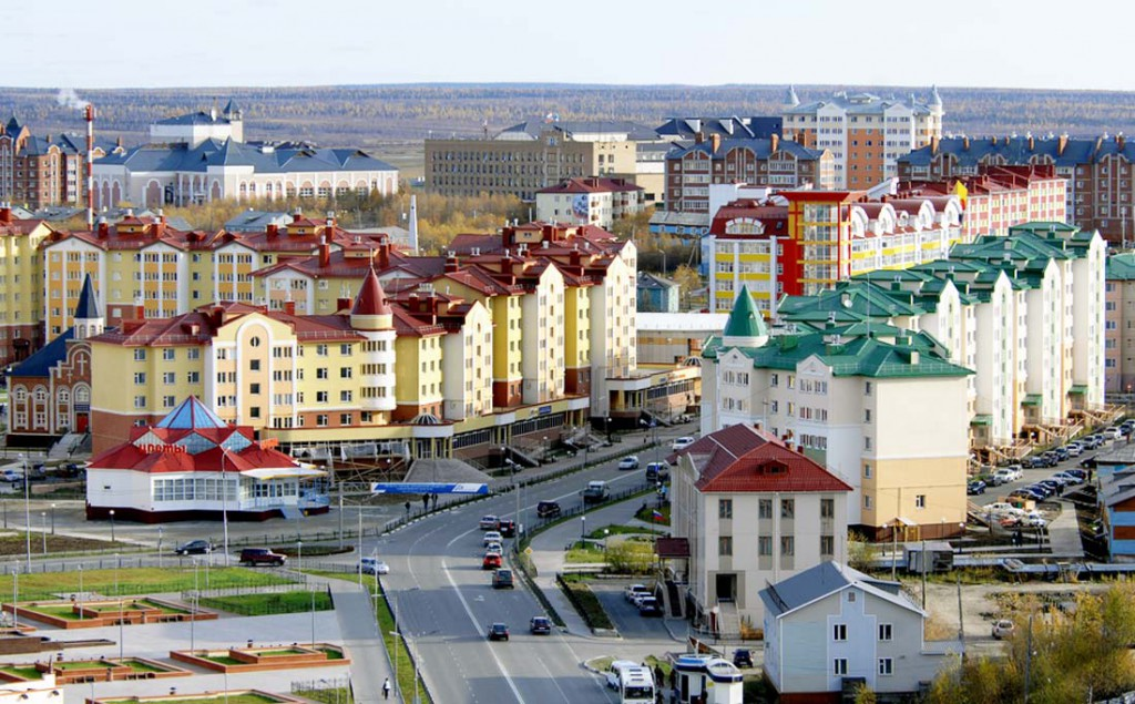 27. Салехард, Ямало-Ненецкий автономный округ.