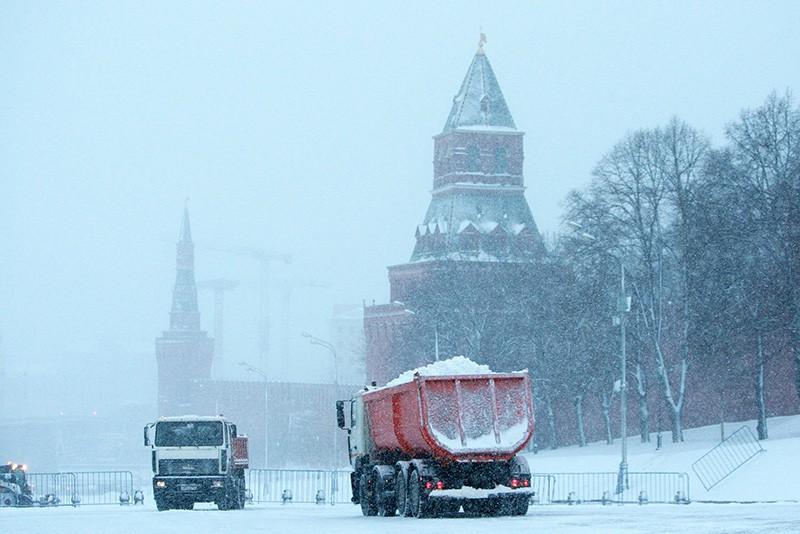 23. Снегопад в Москве