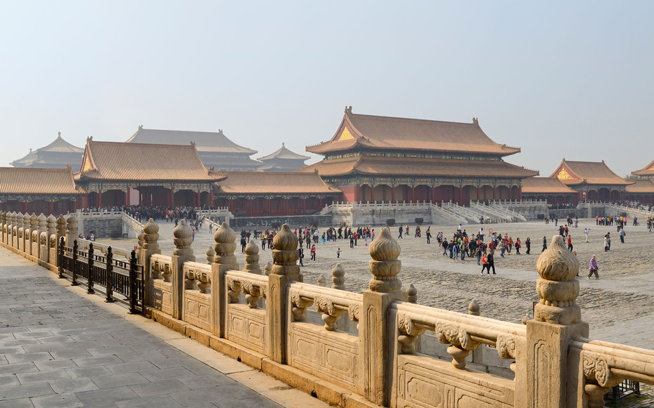 8. Мулан - Запретный город, Китай.
