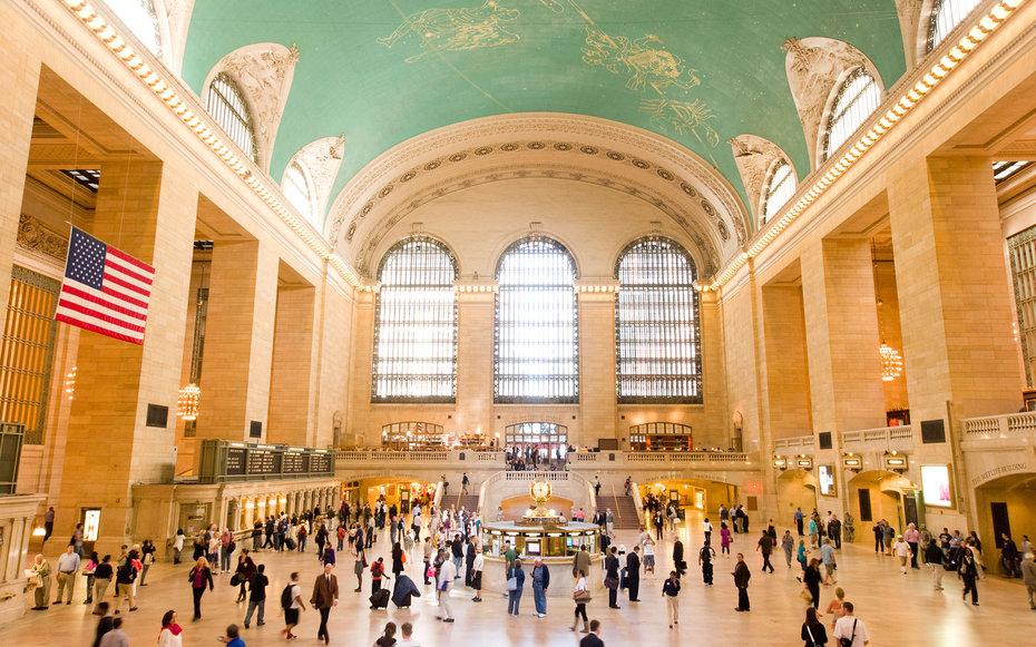 9. Ральф - Центральный вокзал Нью-Йорка, США.