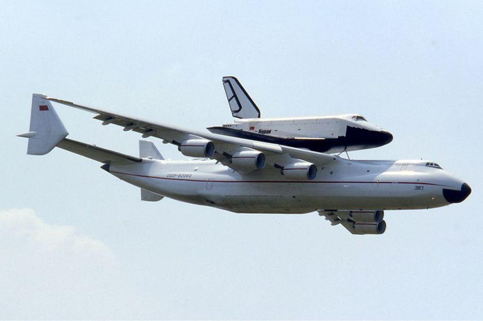 1. Антонов Ан-225 «Мрия».