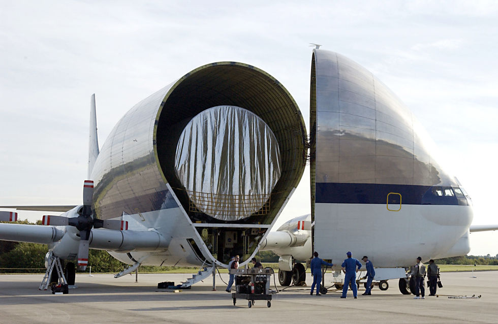3. Aero Spacelines Super Guppy.