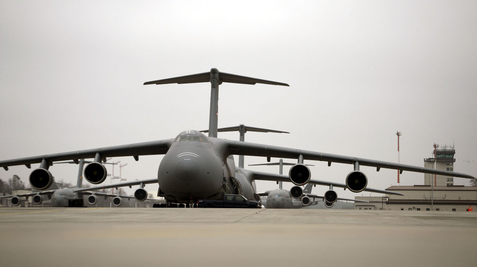 5. Lockheed C-5 Galaxy.