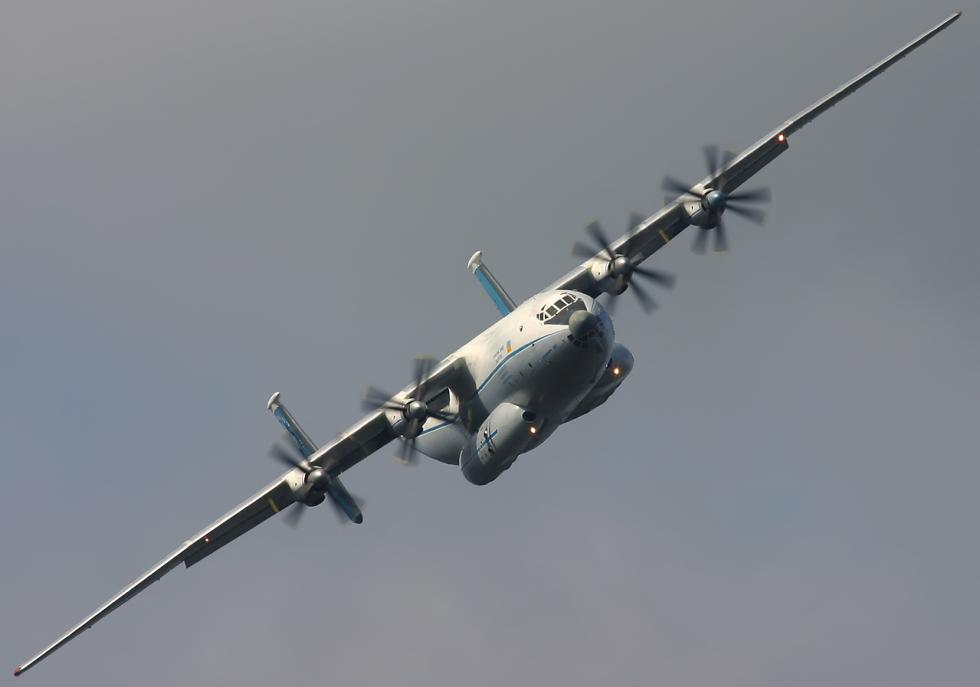 7. Антонов Ан-22 «Антей».