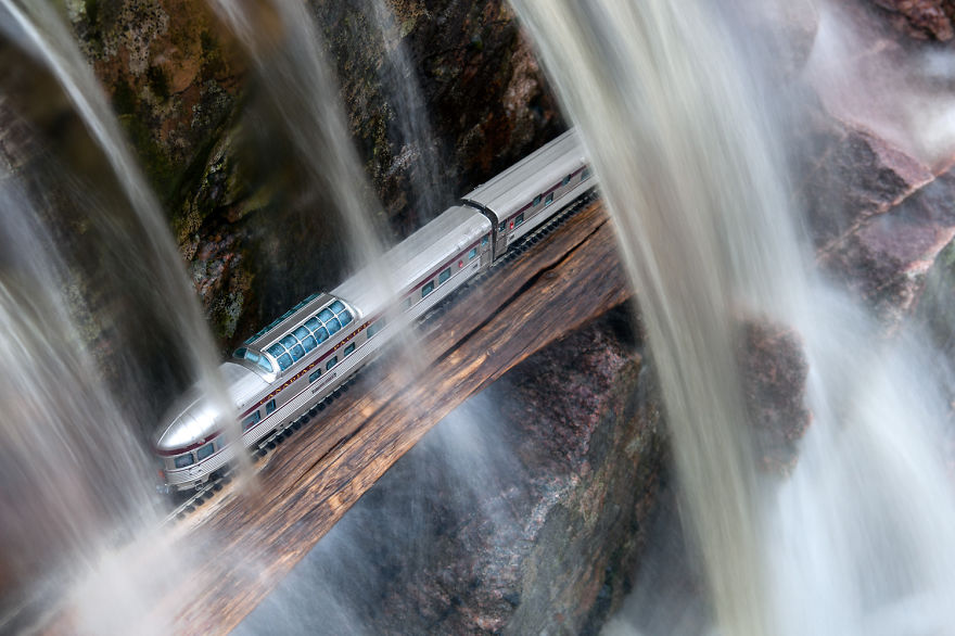 13. Туннель под водой, Новая Шотландия.