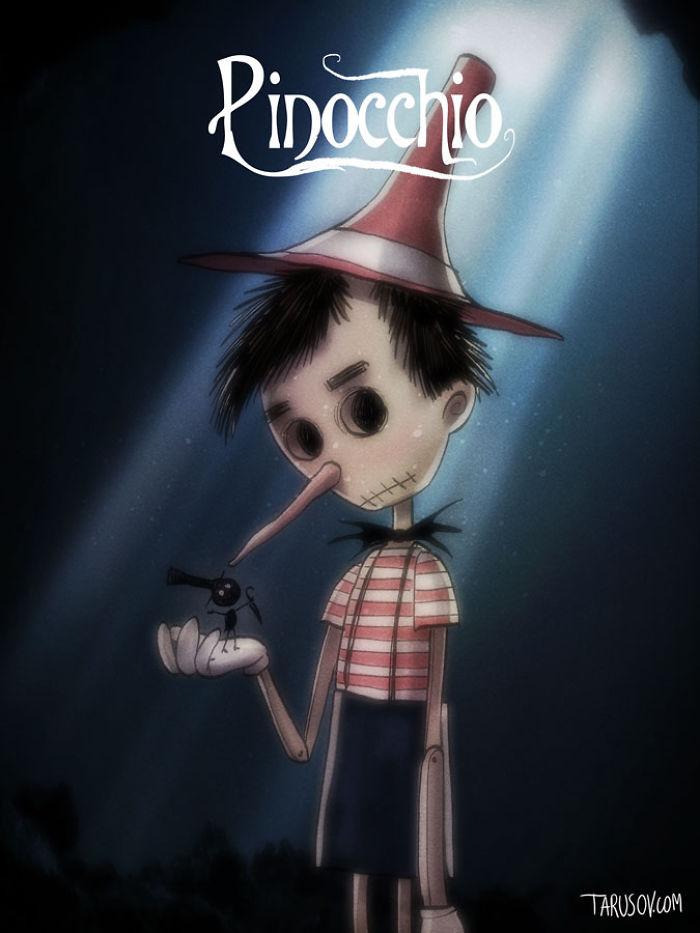 10. Пиноккио.