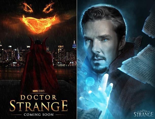 4. Доктор Стрэндж. Фантастический фильм о хирурге, ставшем могущественным магом.