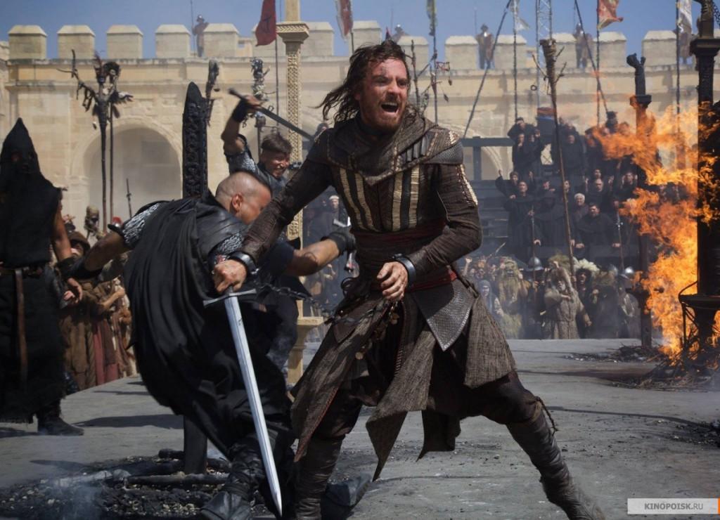 7. Кредо убийцы или Assassin's Creed. Фильм основанный на популярной компьютерной игре.