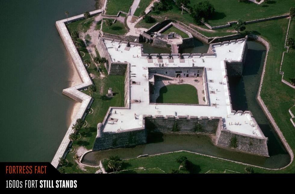 14. Форт Кастильо-де-Сан-Маркос.