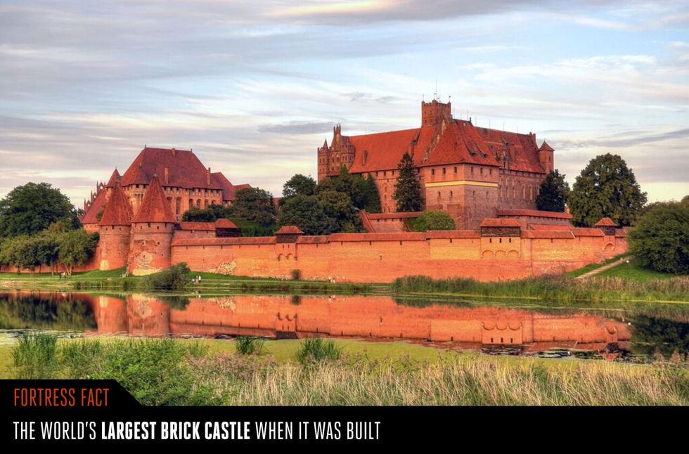 8. Замок Мариенбург.
