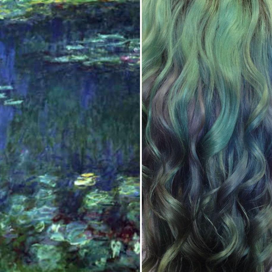 4. «Водяные лилии», Клод Моне.