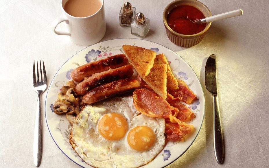 1. Английский завтрак.