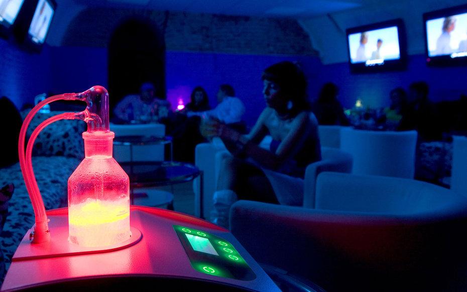 8. Кислородный бар.