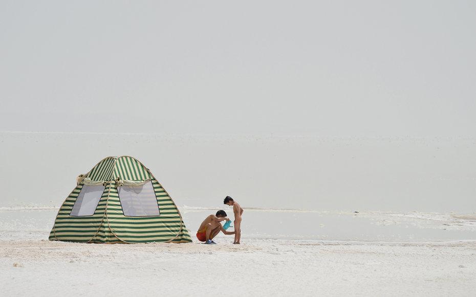 4. Омывание солью, Иран.