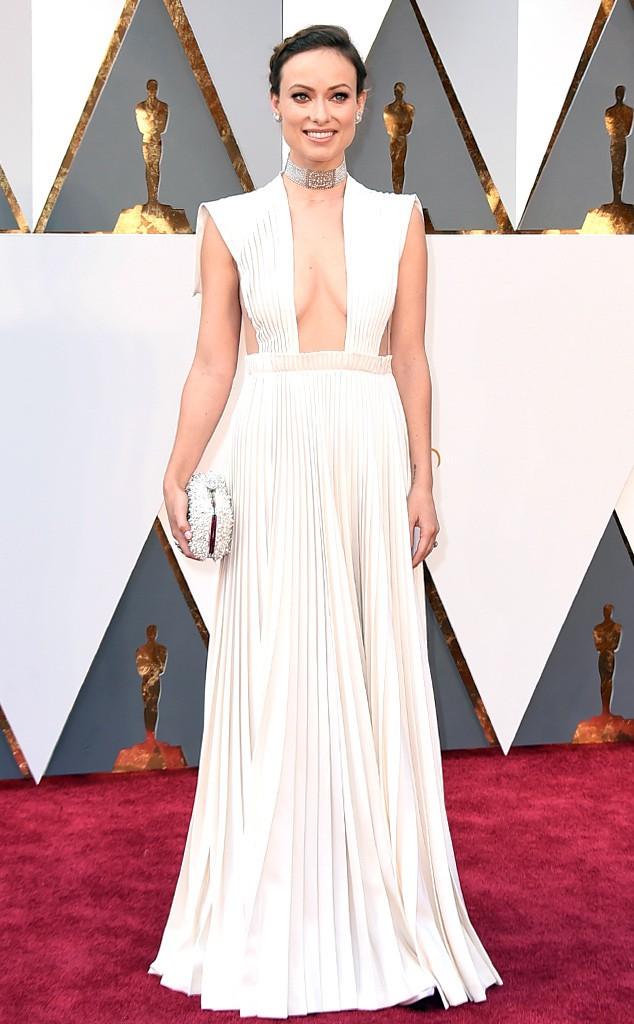 9. Оливия Уайлд выглядела как богиня в платье от Валентино.