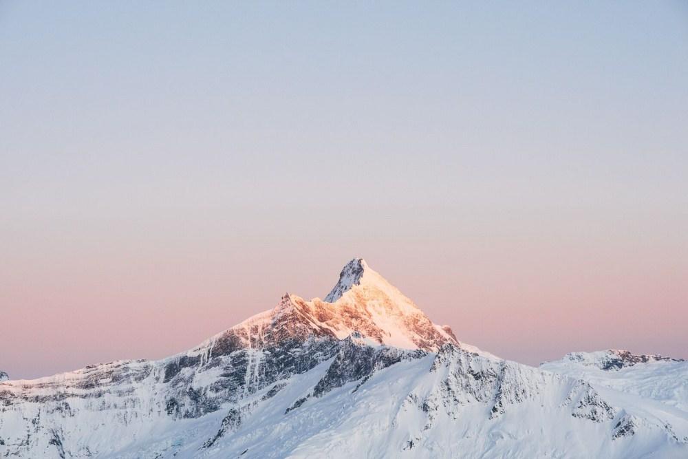 4. Гора Аспиринг.