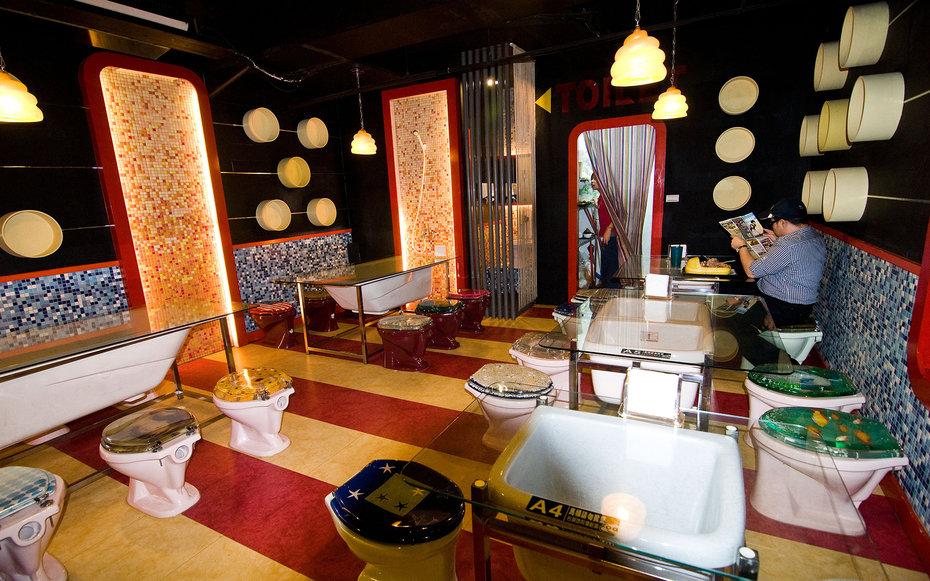 5. Ресторан-туалет, Тайвань.