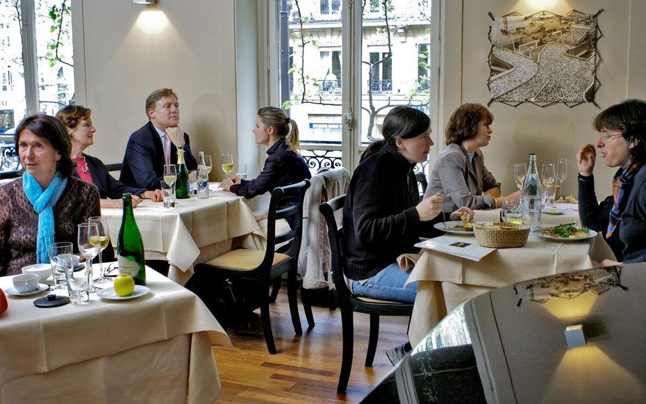 7. Ресторан Pomze, Париж.