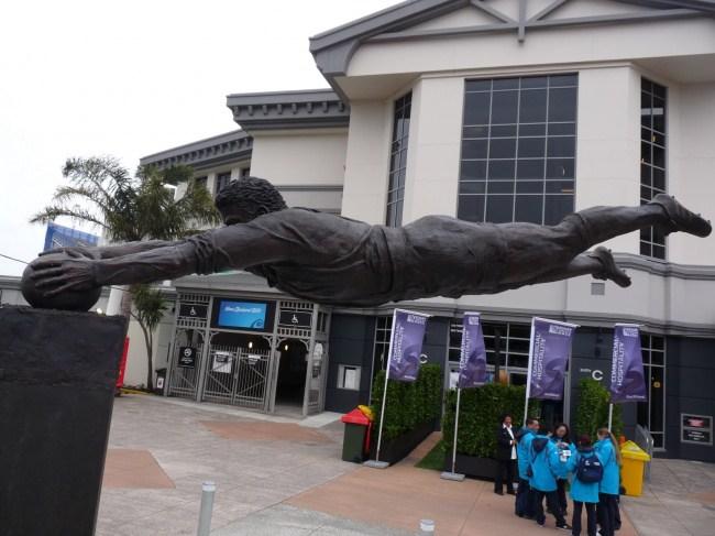 11. Футболист, Новая Зеландия.