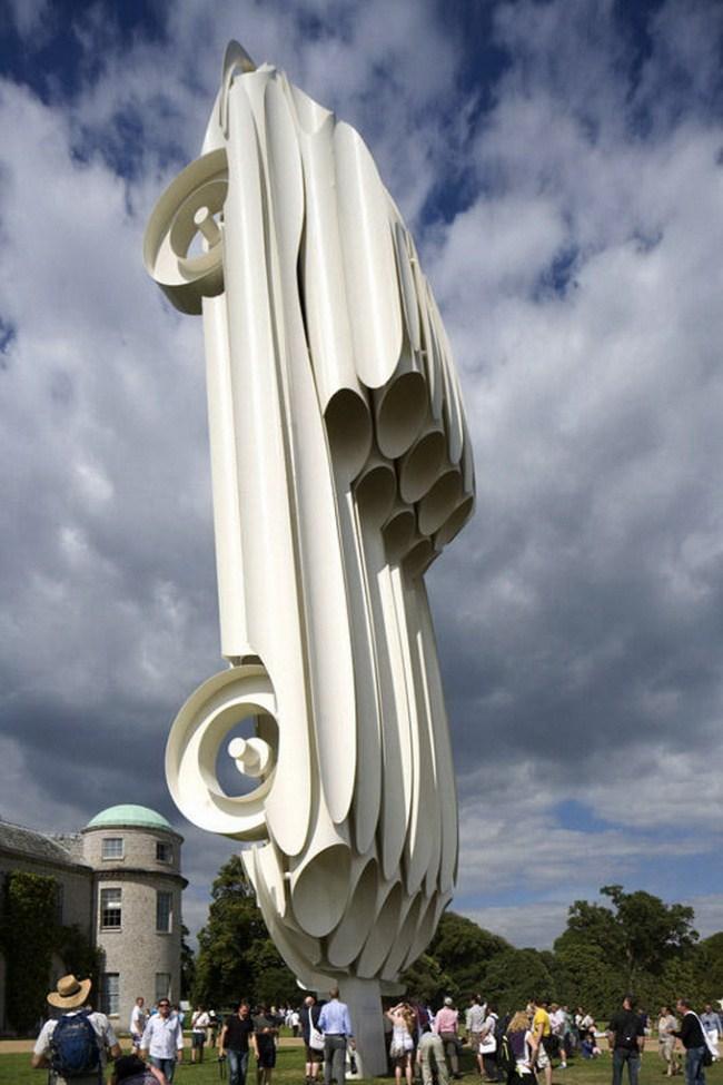 16. Выставка автомобилей «Ягуар», Великобритания.