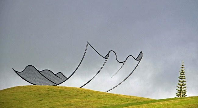 18. Носовой платок Гулливера, Новая Зеландия.
