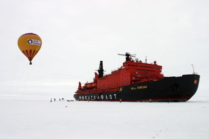 1. Северный полюс.