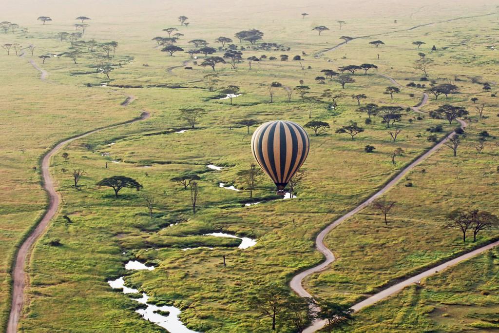 3.  Серенгети, Танзания.