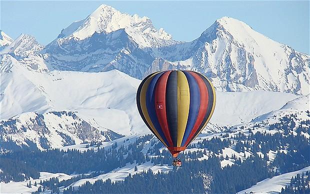 7. Гштаад, Швейцария.
