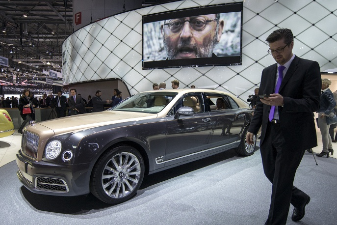 9. Bentley Mulsanne EWB.
