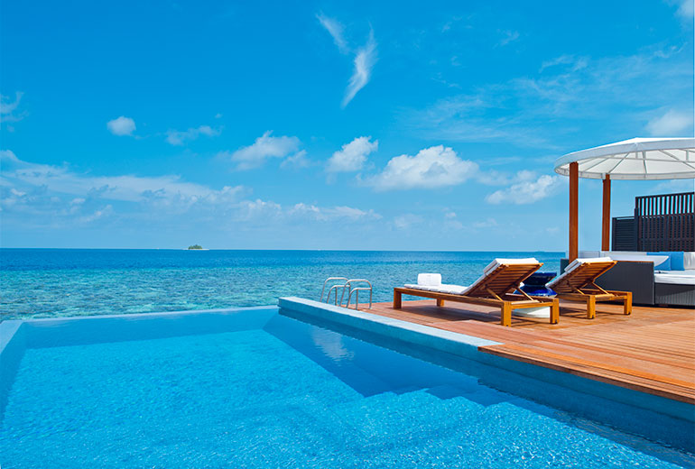 3. W Retreat & Spa Maldives.