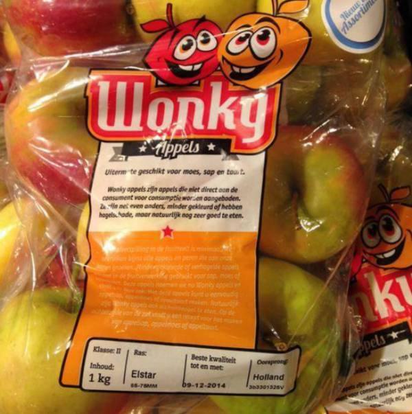 5. Шесть яблок в Нидерландах.