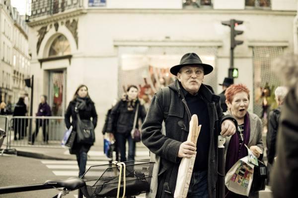 6. Багет в Париже.