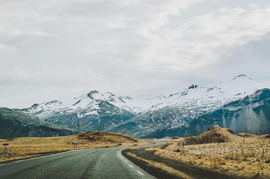 5. Дорога через горы.