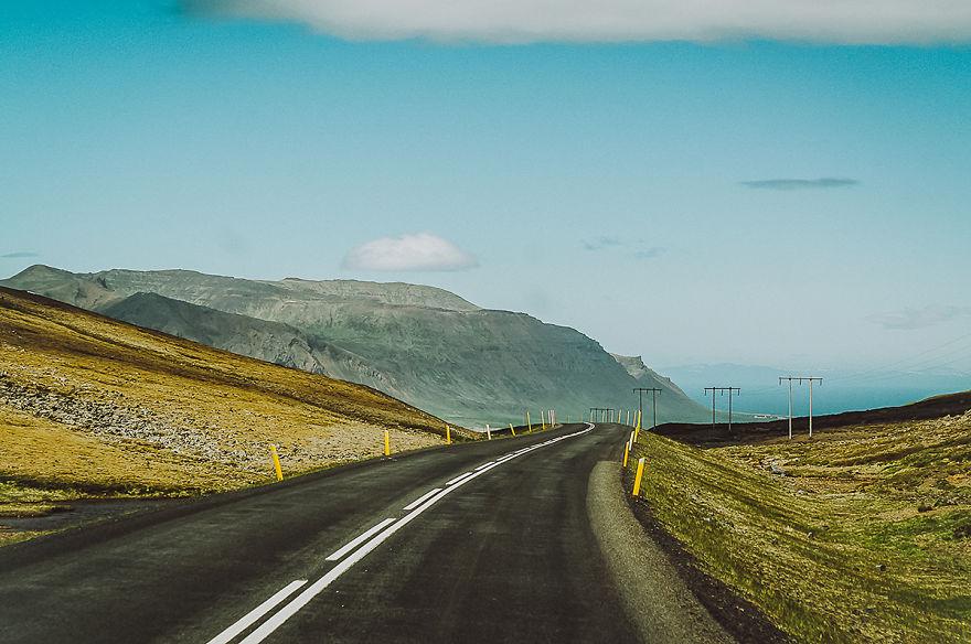 9. Пейзажи Исландии завораживают.