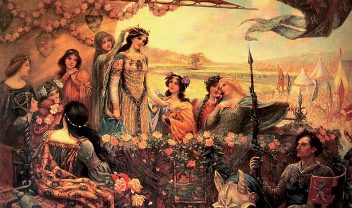 6 – Ланселот и Гвиневра.