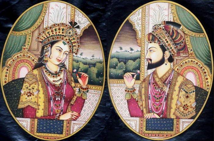 4 – Шах-Джахан и Мумтаз-Махал.