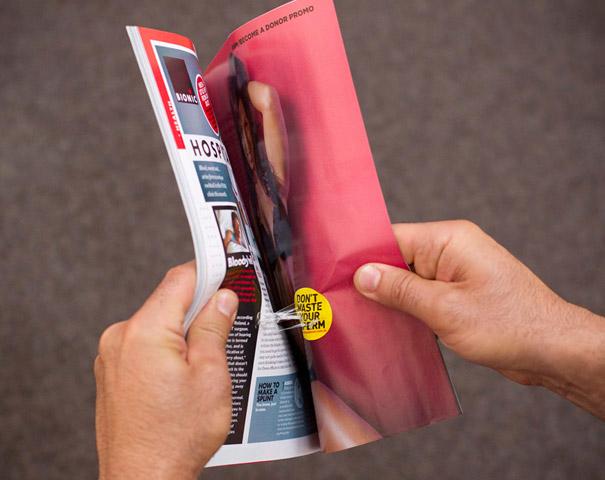 20. Реклама «Не тратьте Сперму».