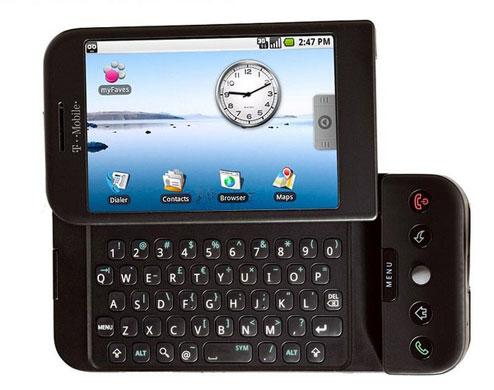 11. HTC Dream.
