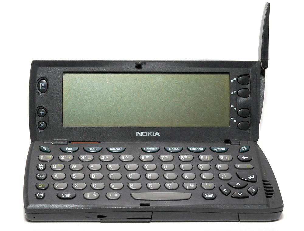 7. Nokia Communicator series.