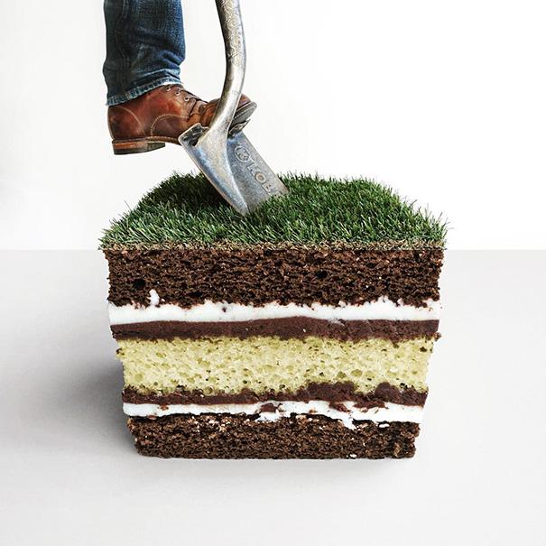 10. Почва и пирожное.