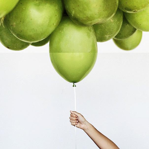 12. Виноград и воздушный шар.