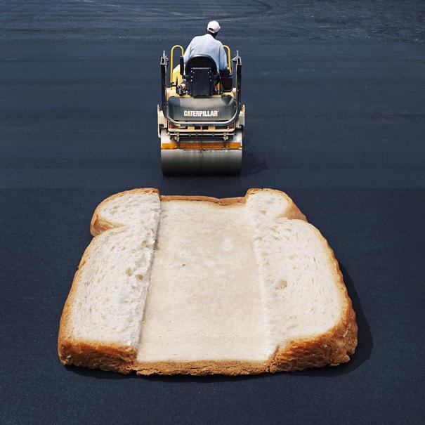 13. Каток и хлеб.
