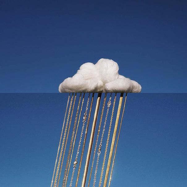 25. Облако и цепочки.