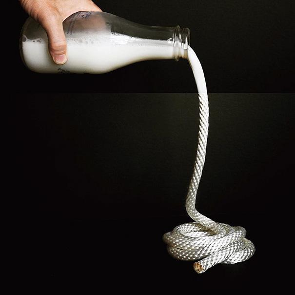 9. Молоко и веревка.